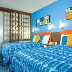 Отель Universals Cabana Bay Beach Resort 3* Люкс с различными типами кроватей