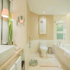 Отель Pan Pacific Xiamen Китай, Сямынь - отзывы, цены и фото номеров - забронировать отель Pan Pacific Xiamen онлайн ванная