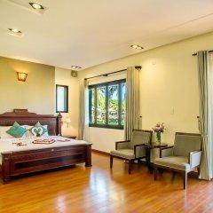 Отель Agribank Hoi An Beach Resort 3* Вилла с различными типами кроватей фото 11