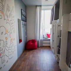 Хостел География Казань Кровать в общем номере двухъярусные кровати фото 14