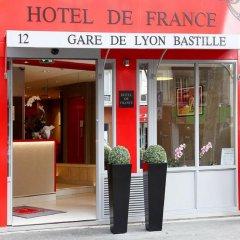 Hotel de France Gare de Lyon Bastille 3* Стандартный номер с различными типами кроватей