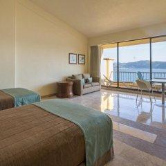 Отель Camino Real Acapulco Diamante 4* Номер Делюкс с различными типами кроватей фото 5