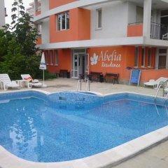 Отель Abelia Residence Болгария, Солнечный берег - отзывы, цены и фото номеров - забронировать отель Abelia Residence онлайн бассейн