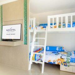 Отель Novotel Phuket Resort 4* Семейный номер Делюкс с 2 отдельными кроватями фото 4