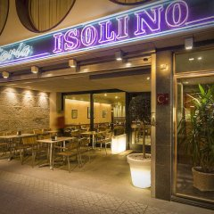 Hotel Isolino Эль-Грове питание