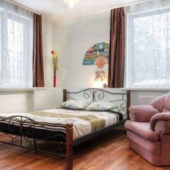 Гостиница Колумб Студия разные типы кроватей фото 27