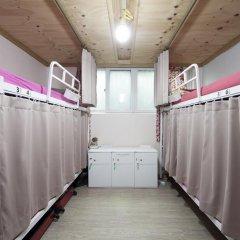 Lazy Fox Hostel Кровать в женском общем номере с двухъярусной кроватью фото 11