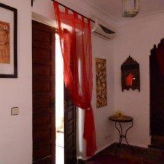 Отель Riad Al Warda 2* Стандартный номер с различными типами кроватей фото 5