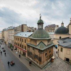Гостиница Lviv hollidays Galytska балкон