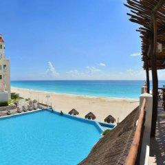 Отель BSEA Cancun Plaza Hotel Мексика, Канкун - отзывы, цены и фото номеров - забронировать отель BSEA Cancun Plaza Hotel онлайн пляж фото 4