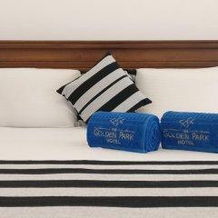Golden Park Hotel Номер Делюкс с двуспальной кроватью фото 12