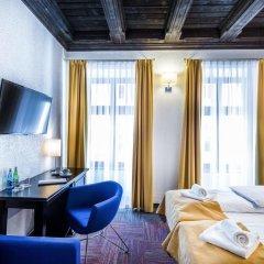 Отель Palazzo Rosso Польша, Познань - отзывы, цены и фото номеров - забронировать отель Palazzo Rosso онлайн комната для гостей фото 7