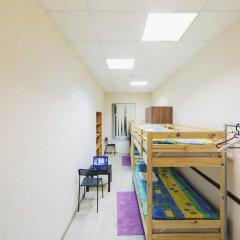 Мини-Отель Компас Кровать в общем номере с двухъярусной кроватью фото 7