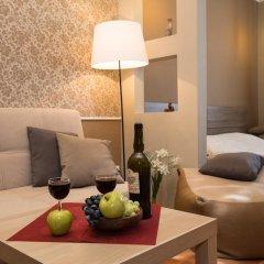 Апартаменты Максим Апартаменты с различными типами кроватей фото 24