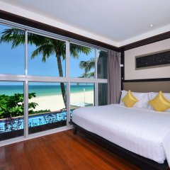 Отель Andaman White Beach Resort 4* Люкс с различными типами кроватей фото 31