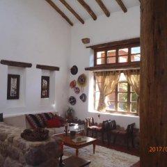 Отель Cusco, Valle Sagrado, Huaran интерьер отеля