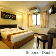 Отель Rambuttri Village Inn & Plaza 3* Улучшенный номер с различными типами кроватей фото 13