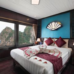 Отель Halong Aclass Legend Cruise 3* Люкс с различными типами кроватей фото 4