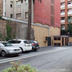 Отель Residencia Erasmus Gracia парковка