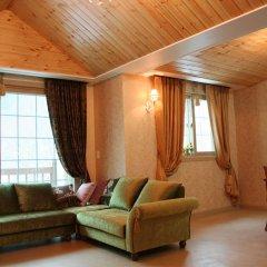 Отель Shine Valley Pension Южная Корея, Пхёнчан - отзывы, цены и фото номеров - забронировать отель Shine Valley Pension онлайн комната для гостей фото 3
