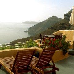 Отель Antithesis Caldera Cliff Santorini бассейн