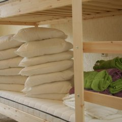 Гостиница Localhostel Кровать в общем номере с двухъярусной кроватью фото 9