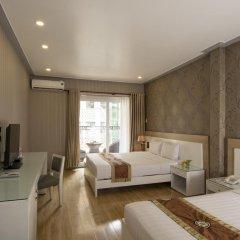 Saga Hotel 2* Стандартный семейный номер с двуспальной кроватью фото 4
