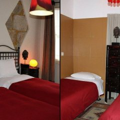 Отель Residencia Pedra Antiga 3* Стандартный номер с различными типами кроватей фото 9