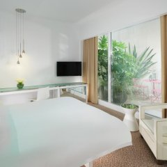 Отель St Martins Lane, A Morgans Original 5* Номер Делюкс с различными типами кроватей фото 2