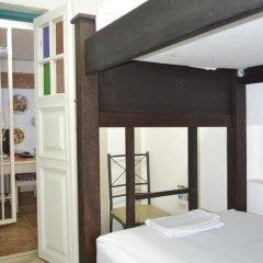 Отель Hostal Pajara Pinta Кровать в общем номере с двухъярусной кроватью фото 17