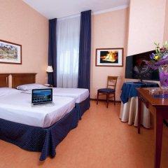 Отель Villa Eur Parco Dei Pini 3* Стандартный номер с различными типами кроватей фото 6