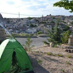 Отель Kapadokya Karşı Bağ Camping Ургуп спортивное сооружение