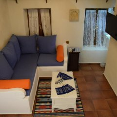 Апартаменты Elafusa Luxury Apartment Родос комната для гостей фото 5