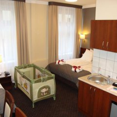 Отель City Center Rooms 3* Стандартный номер с различными типами кроватей фото 9