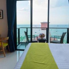 Отель Deep Blue Z10 Pattaya Стандартный номер с различными типами кроватей фото 26