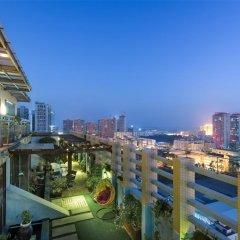 Отель Mercure Xiamen Exhibition Centre Китай, Сямынь - отзывы, цены и фото номеров - забронировать отель Mercure Xiamen Exhibition Centre онлайн балкон