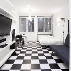 Апартаменты Goodnight Warsaw Apartments Wilcza 26a Студия с различными типами кроватей фото 10