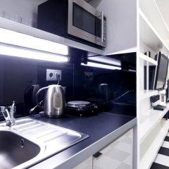 Апартаменты Goodnight Warsaw Apartments Wilcza 26a Студия с различными типами кроватей фото 6