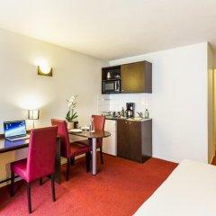Отель Aparthotel Adagio access Vanves Porte de Versailles 3* Апартаменты с разными типами кроватей фото 7