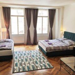 Апартаменты Janalex Apartments Wenceslas Square комната для гостей фото 3