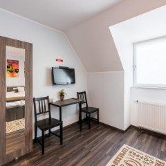 Отель Bürgerhofhotel 3* Стандартный номер с двуспальной кроватью фото 5