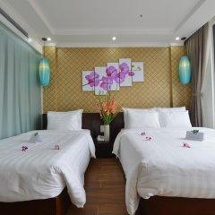 Hanoi Bella Rosa Suite Hotel 3* Стандартный семейный номер с двуспальной кроватью фото 6