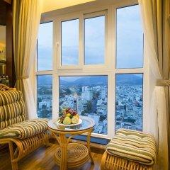 Green World Hotel Nha Trang 4* Улучшенный номер фото 2