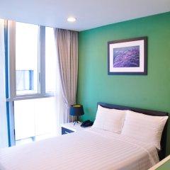 Minh Khang Hotel 3* Стандартный номер с двуспальной кроватью фото 3