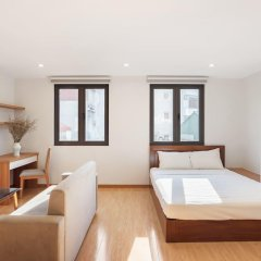 Отель An Nguyen Building Улучшенная студия с различными типами кроватей фото 3