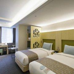 aFIRST Hotel Myeongdong 3* Стандартный семейный номер с двуспальной кроватью фото 5