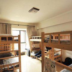 Отель Xian Ruyue Inn 2* Кровать в мужском общем номере с двухъярусной кроватью фото 3