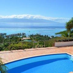 Отель Villa Blue Lagoon by Tahiti Homes Французская Полинезия, Папеэте - отзывы, цены и фото номеров - забронировать отель Villa Blue Lagoon by Tahiti Homes онлайн бассейн фото 3