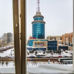 Гостиница Nursaya 1 Казахстан, Нур-Султан - отзывы, цены и фото номеров - забронировать гостиницу Nursaya 1 онлайн балкон