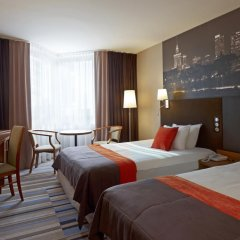Отель Mercure Warszawa Centrum 4* Стандартный номер с 2 отдельными кроватями фото 2
